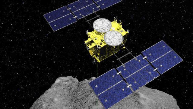 فرود مجدد فضاپیمای هایابوسا 2 بر سیارک ریوگو