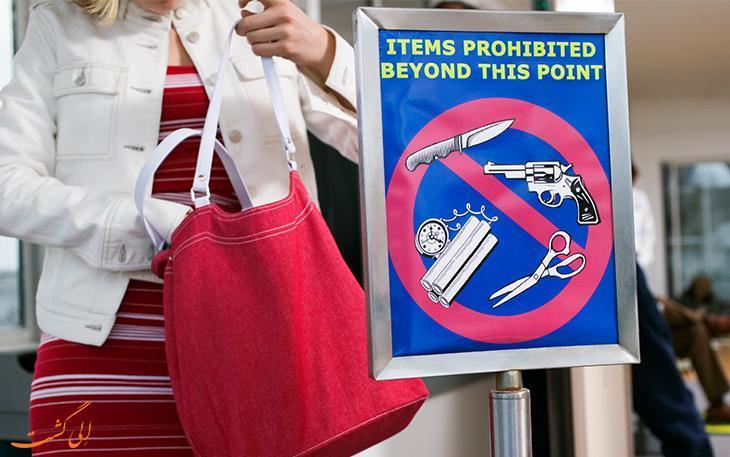 شگفت آورترین وسایل ممنوعه و مجاز در هواپیما