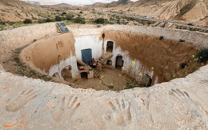 آخرین روستای زیرزمینی در جهان!