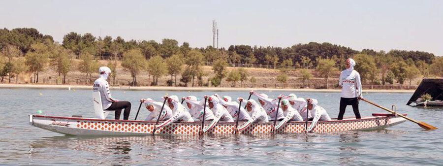 دراگون بوت قهرمانی دنیا؛ تیم بانوان در 500 متر هشتم و تیم مردان نهم شدند